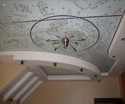 Потолок из гипсокартона – разные решения на все случаи жизни