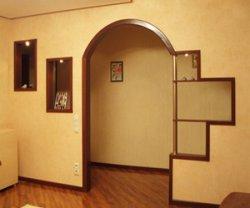 Дверные арки из гипсокартона своими руками